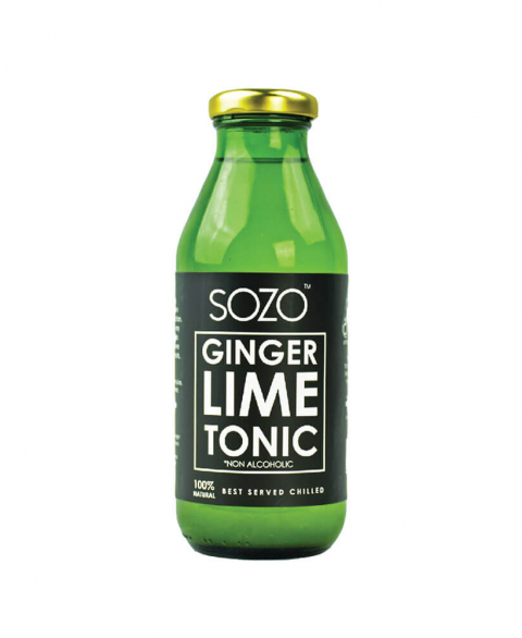 Sozo  Ginger Lime Tonic 350ml